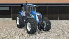 New Holland T8020 science blue para Farming Simulator 2015