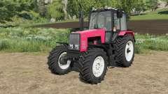 MTZ-1221 Belarús con la selección de ruedas para Farming Simulator 2017