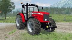 Massey Ferguson 6480 new wheels para Farming Simulator 2013