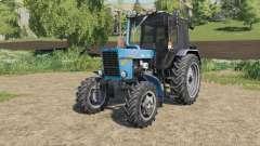 MTZ-82.1 Belarús, la elección del diseño para Farming Simulator 2017