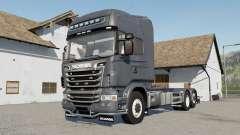 Scania R730 Hooklift selectable wheels para Farming Simulator 2017