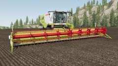 Claas Lexion 780 movable rear axle para Farming Simulator 2017