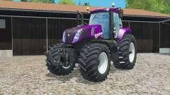 New Holland T8.435 color configurations para Farming Simulator 2015