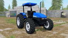 New Holland TL95E gradus blue para Farming Simulator 2017