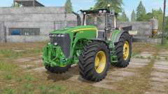 John Deere 8530 pantone green para Farming Simulator 2017