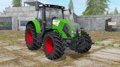 Claas Axion 820 islamic green para Farming Simulator 2017