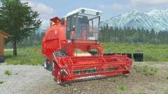 Bizon Rekord Z058 coral red para Farming Simulator 2013