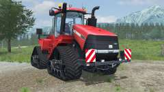 Case IH Steiger 600 Quadtrac light brilliant red para Farming Simulator 2013