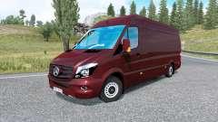 Mercedes-Benz Sprinter 315 CDI LWB 2015 v1.8.2 para Euro Truck Simulator 2