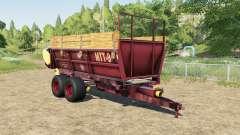 MTT-9 y el PRT-7A para Farming Simulator 2017