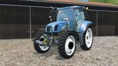 New Holland T6.160 changing wheels para Farming Simulator 2015