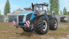 New Holland T9-series with drilling tires para Farming Simulator 2017