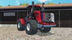 Kirovets K-9450 de color rojo brillante para Farming Simulator 2015