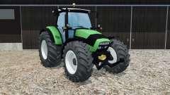 Deutz-Fahr Agrotron K 420 crayola green para Farming Simulator 2015