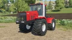 Kirovets K-744R3 en un color rojo brillante para Farming Simulator 2017