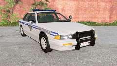 Gavril Grand Marshall US 50 States Police para BeamNG Drive