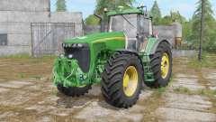 John Deere 8520 schallschutzkabine para Farming Simulator 2017