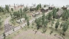El pueblo y los Urales Rebe 2 para MudRunner