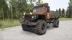 ZVM-39082 Siver 4x4 para MudRunner
