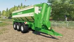 Krone TX 430 with tow hitch para Farming Simulator 2017