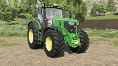 John Deere 6R-series new controls panel para Farming Simulator 2017