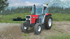 Massey Ferguson 390 added front counterweight para Farming Simulator 2013