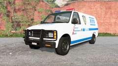Gavril H-Series NYPD skin v1.1 para BeamNG Drive