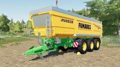 Joskin Trans-Space 8000-27 TRC150 Fumades para Farming Simulator 2017