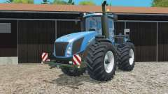 New Holland T9.565 replaced exhaust pipe para Farming Simulator 2015