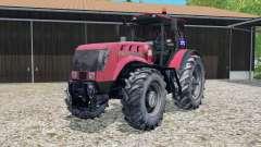 MTZ-3022ДЦ.1 Belarús realista de la rueda de marcas para Farming Simulator 2015