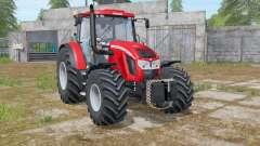Zetor Forterra 150 HD light brilliant red para Farming Simulator 2017