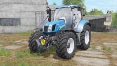 New Holland T6.140&T6.160 para Farming Simulator 2017