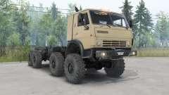KamAZ-63501 con el aumento de la distancia al suelo para Spin Tires