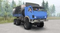 KamAZ-4310 azul brillante para Spin Tires