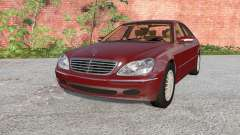 Mercedes-Benz S 600 (W220) 2002 para BeamNG Drive