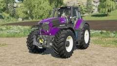 Deutz-Fahr Serie 9 TTV Agrotron horn changed para Farming Simulator 2017
