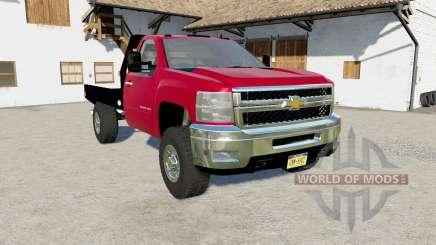 Chevrolet Silverado 2500 HD Flatbed 2010  para Farming Simulator 2017