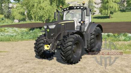 John Deere 6R-series Black Edition FL para Farming Simulator 2017