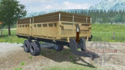 MMZ-771 ninasimone-naranja para Farming Simulator 2013