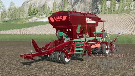 Agro-Masz Salvis 3800 metallic multicolor para Farming Simulator 2017