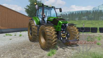 Deutz-Fahr 7250 TTV Agrotron dirt texture para Farming Simulator 2013