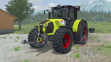 Claas Arion 620 vivid lime green para Farming Simulator 2013