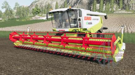 Claas Lexion 580 washable para Farming Simulator 2017