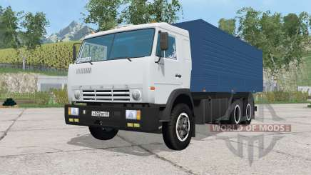 KamAZ-53212 con pricepe para Farming Simulator 2015
