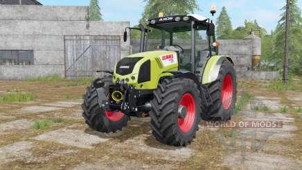 Claas Axos 330 interactive control para Farming Simulator 2017