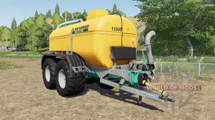 Zunhammer SKE 15.5 PU mudguards choice para Farming Simulator 2017