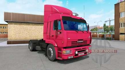 KamAZ-5460 rojo brillante para Euro Truck Simulator 2