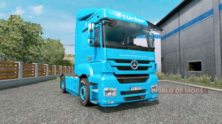 Mercedes-Benz Axor 1843 MegaSpace para Euro Truck Simulator 2