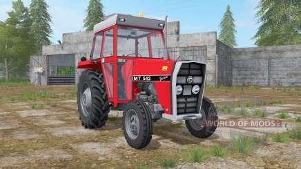 IMT 542 DeLuxe light brilliant red para Farming Simulator 2017