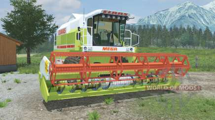 Claas Mega 218 & C600 para Farming Simulator 2013